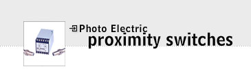 Photo Electric Proximity Switches