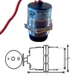 Inductive Proximity Switches Barrel Round DC Type